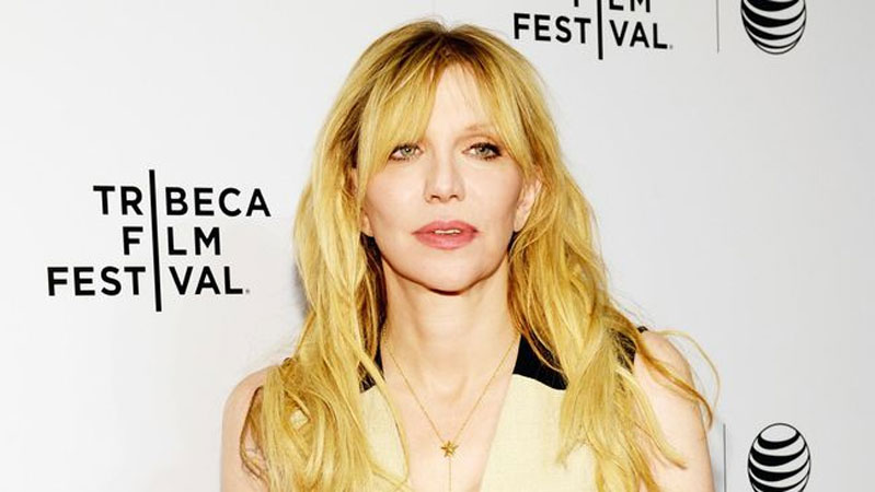 Courtney Love membicarakan musik rock. (Ben Gabbe/Getty Images for the 2015 Tribeca Film Festival)