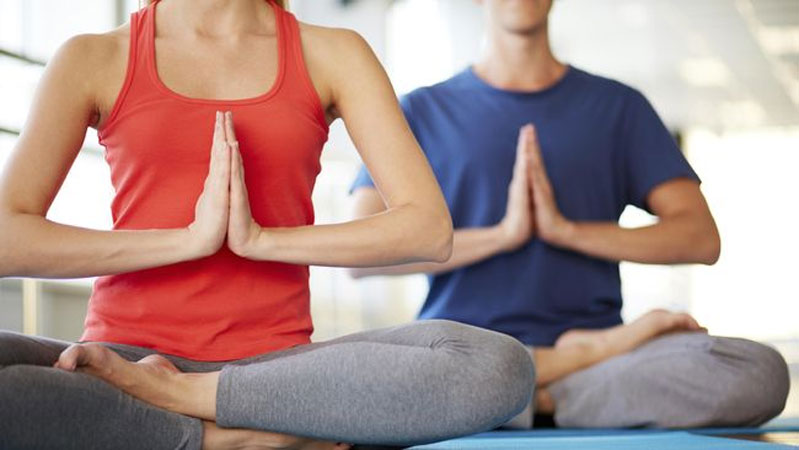 ilustrasi yoga (Thinkstock/shironosov)